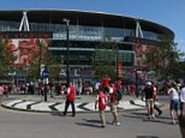 Arsenal lose High Court battle after applying to hold twice as many concerts at the Emirates Stadium