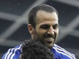 Cesc Fabregas will make Chelsea major Champions League contenders, says Barcelona's Pedro