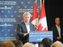Harper announces $2.5M for mine training in Northern Sask.
