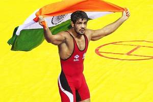 India at sixth spot at CWG; Grapplers hope to add to tally